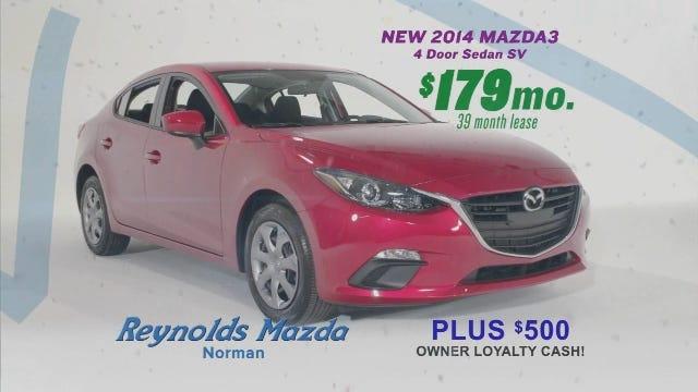 Reynolds Mazda: Ring In the Savings