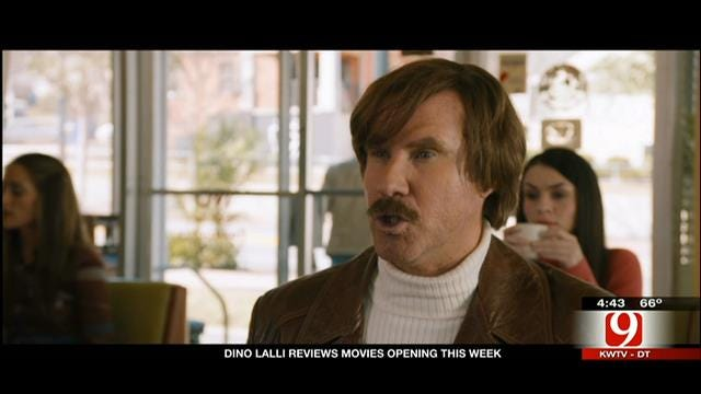 Dino's Movie Review: 'Anchorman 2,' 'American Hustle'