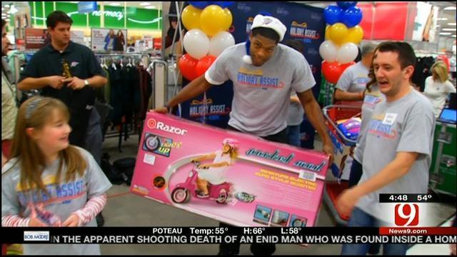 Thunder Shopping Spree Puts Smiles On Faces