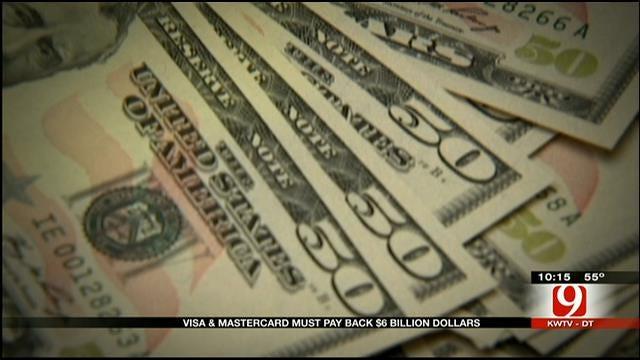 Visa, MasterCard Must Pay Back $6 Billion