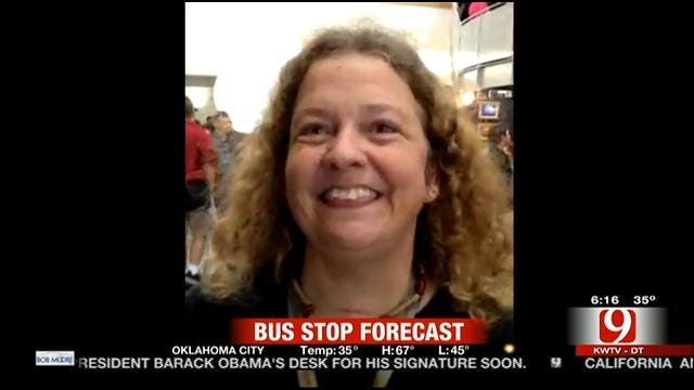 Jed's Bus Stop Forecast For Wednesday, December 18