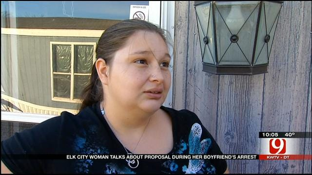 Fiancee Of OK Man Who Proposed While Being Arrested Speaks Out