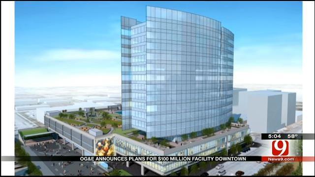 OG&E Announces Plans For $100M Facility In Downtown OKC
