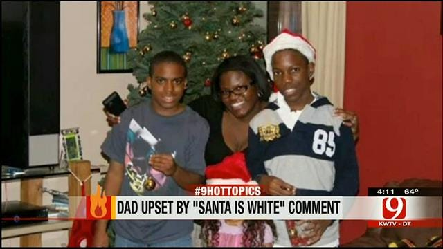Hot Topics: Dad Upset By Teacher's 'Santa Is White' Comment