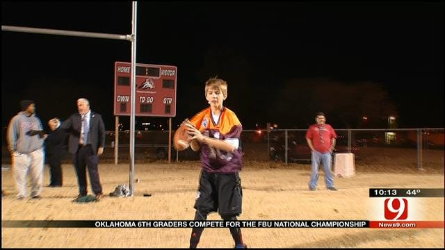 Oklahoma 6th Graders Compete For FBU National Championship