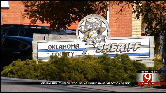 Mental Health Facility Closing Could Impact OK Law Enforcement Officers