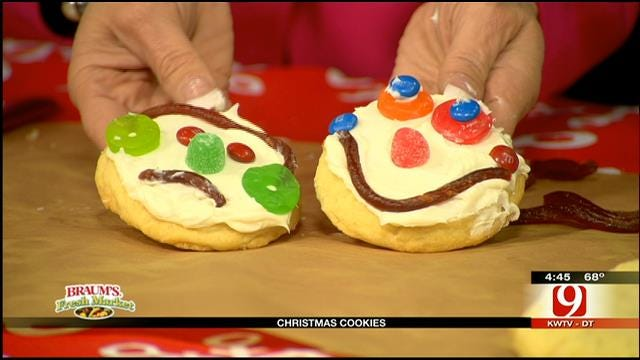 Colossal Snowman Cookies