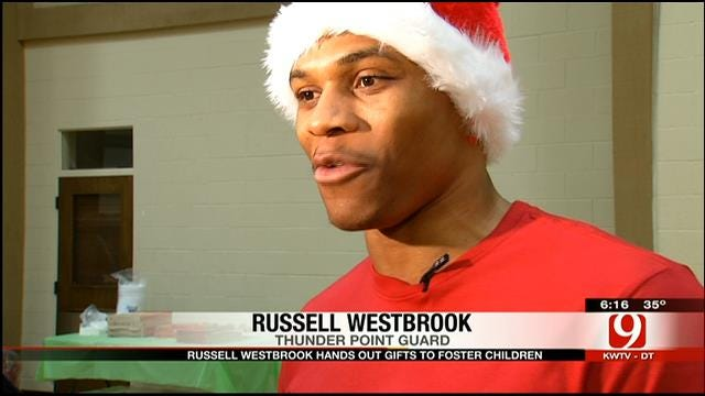 Thunder Star Westbrook Hosts 2nd Annual 'Why Not Foundation' Christmas Party