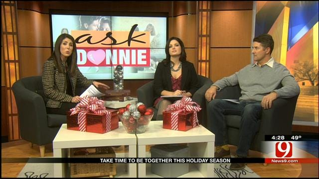 Ask Donnie: Taking Time To Be Together This Holiday Season