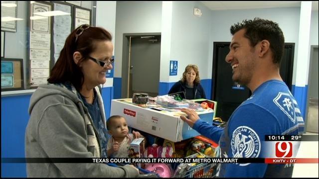 Texas Couple Become 'Layaway Angels' At OKC Walmart