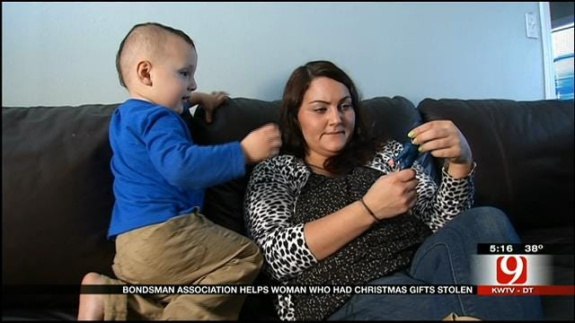 """OK County Bondsman Assoc. """"Bails Out"""" Family In Need"""