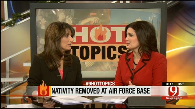 Hot Topics: Nativity Scene Removed From SC Air Force Base