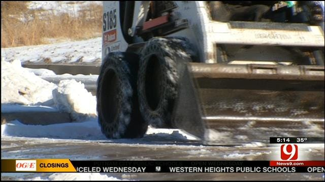 OKC Businesses Impacted By Winter Weather, Good And Bad