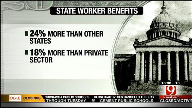Study Recommends Raises For Front-Line State Workers