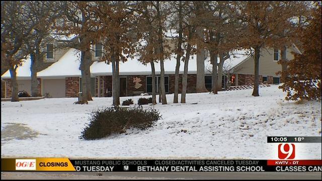 Oklahoma Co. Deputies Bust Burglars By Following Their Footprints In Snow