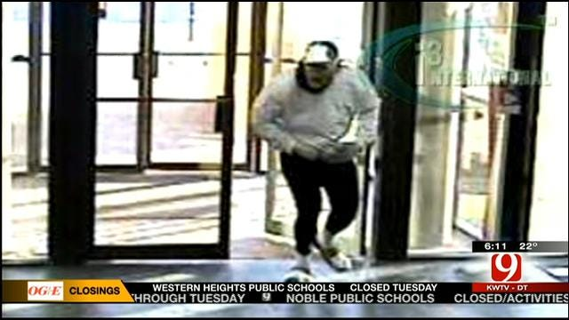 Search Continues For Suspect In Four OKC Bank Robberies