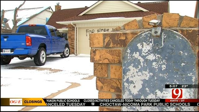 SW OKC Tornado Victim Frustrated After House Construction Stops