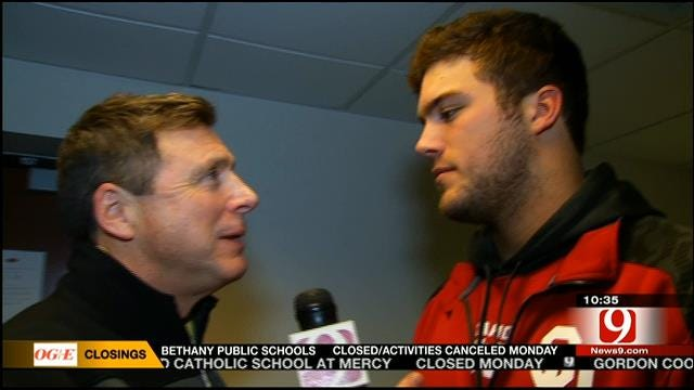 Blake Bell One-On-One, OU Bedlam Report Card