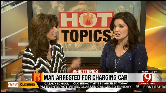 Hot Topics: Electric Car Owner Charged