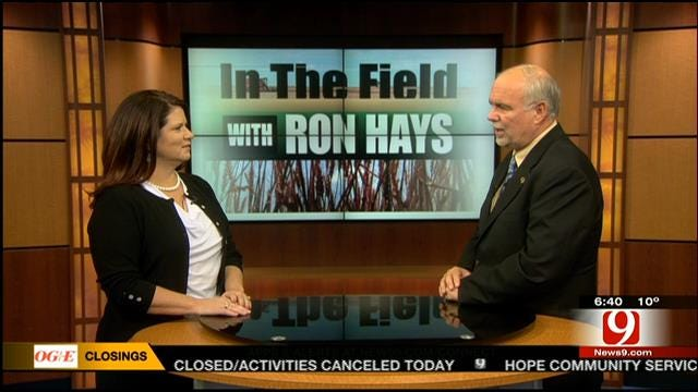 In The Field: Heather Buckmaster With Oklahoma Beef Council