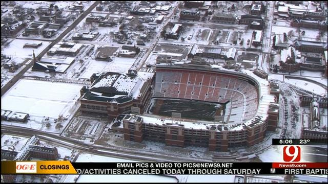 Stillwater Emergency Manager Offers Tips For Bedlam Fans To Stay Warm