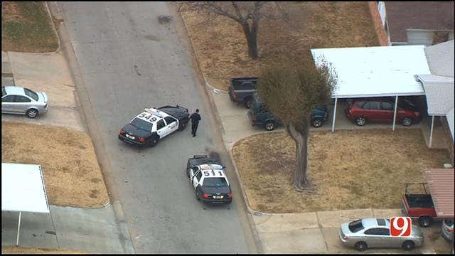 WEB EXTRA: SkyNews 9 Flies Over Scene Of Shooting In SW OKC