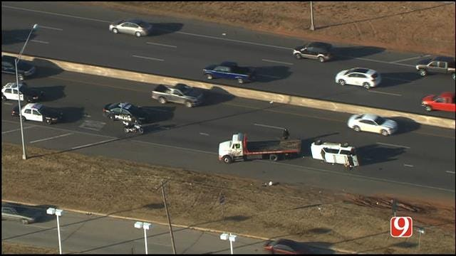 WEB EXTRA: Eastbound I-240 At I-35 Reopens Following Accident