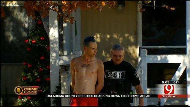 Oklahoma Co. Deputies Crack Down High Crime Areas This Holiday Season