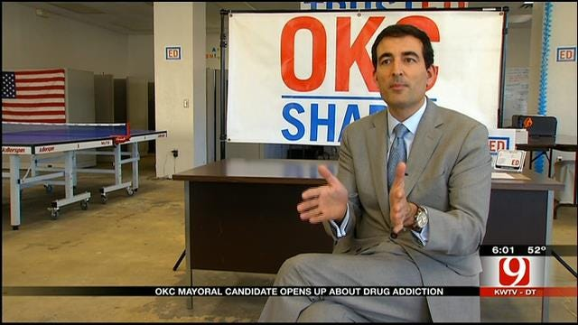 Mayoral Candidate Ed Shadid Admits He Used To Be Addicted To Marijuana