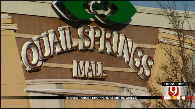 Thieves, Vandals Target OKC Mall Parking Lots