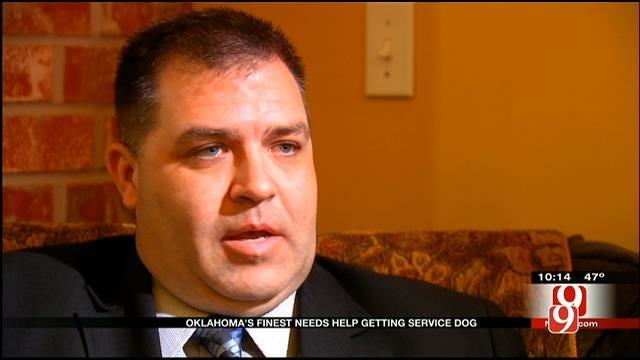 Shawnee Vet Needs Helping Getting To Service Dog