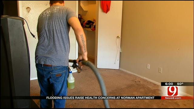 Water Woes Continue To Plague Norman Apartment Complex