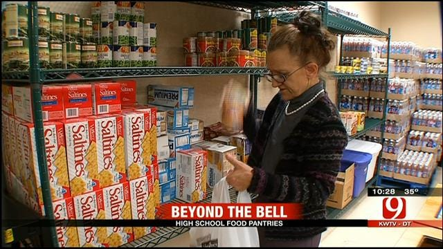 OKC Schools, Food Bank To Stock Pantry For Students