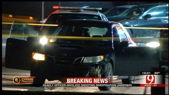 Police Officer Shoots, Kills Suspect In SE OKC