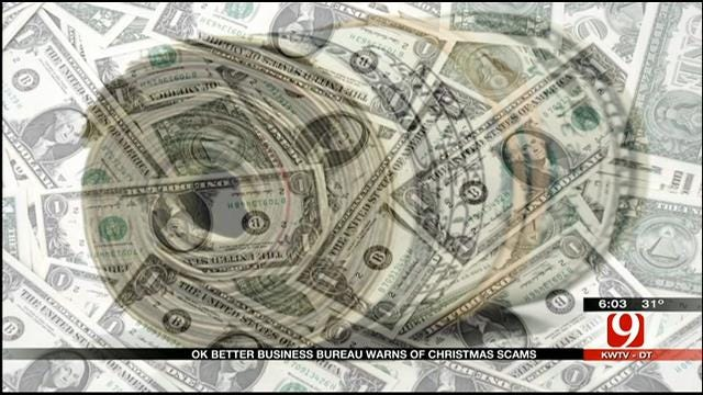 Oklahoma Better Business Bureau Warns About Top Holiday Scams