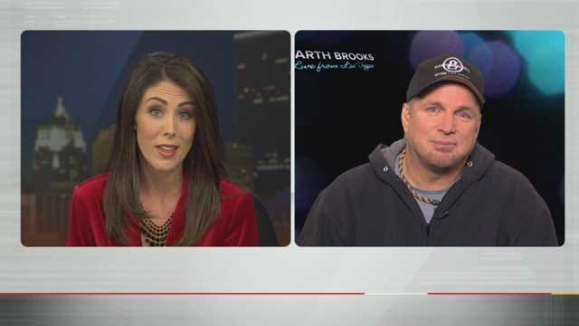 WEB EXTRA: Amanda Taylor's Exclusive Interview With Garth Brooks
