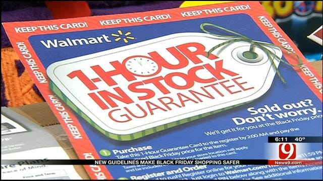 New Guidelines Make Black Friday Shopping Safer For Oklahomans