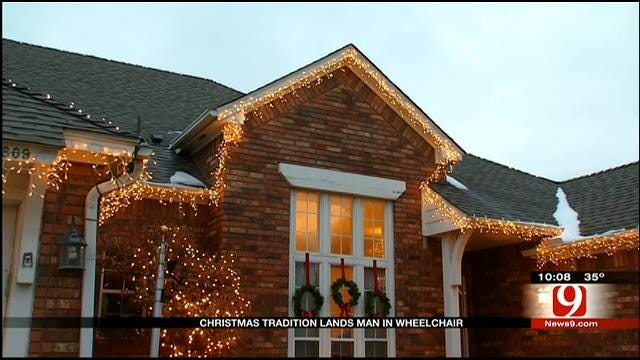 Oklahomans Urged To Use Caution When Installing Christmas Lights