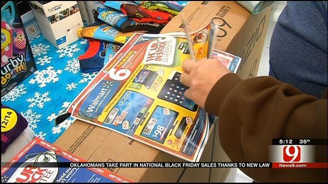 Oklahomans To Enjoy True Black Friday Sales Thanks To New Law