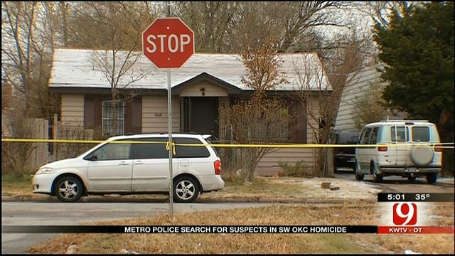 Search Continues For Suspects In SW OKC Deadly Shooting