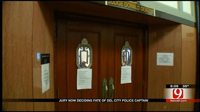 Juror Deliberates Case Of Del City Officer In Death Of Teen