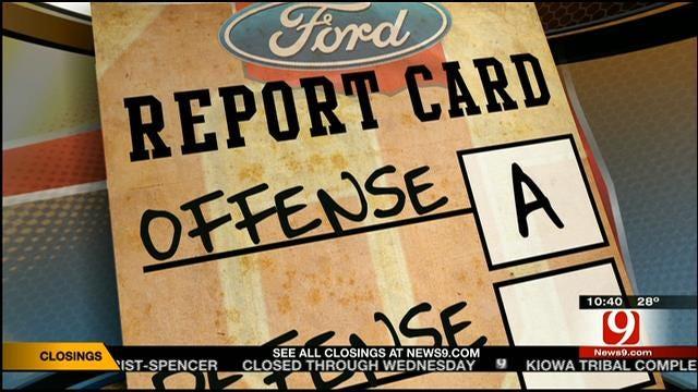 Oklahoma Football Report Card