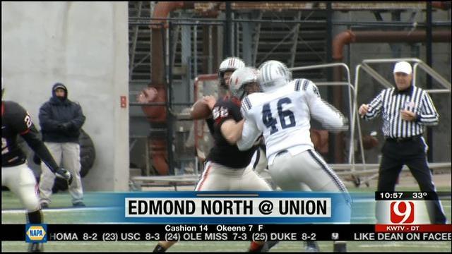 High School Playoff Highlights: Union vs. Edmond North