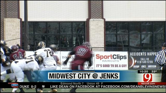 High School Playoff Highlights: Jenks vs. Midwest City