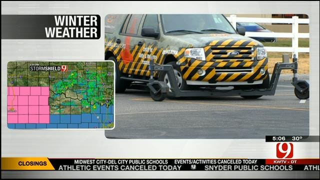 OSU-OKC Driving Instructor Offers Tips For Winter Driving