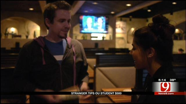 Norman Waitress Receives $500 Tip As Part Of A Stranger's Last Wish