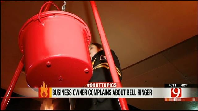 Hot Topics: Business Owner Complains About Bell Ringer