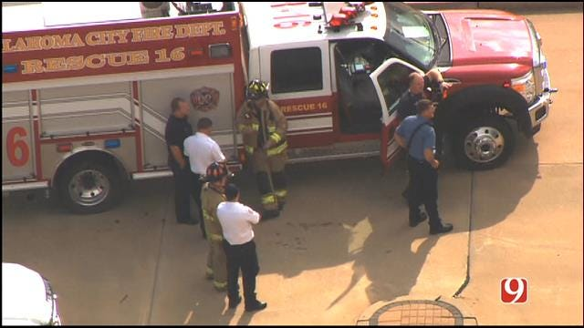 WEB EXTRA: SkyNews 9 Flies Over Suspicious Package Incident In SW OKC