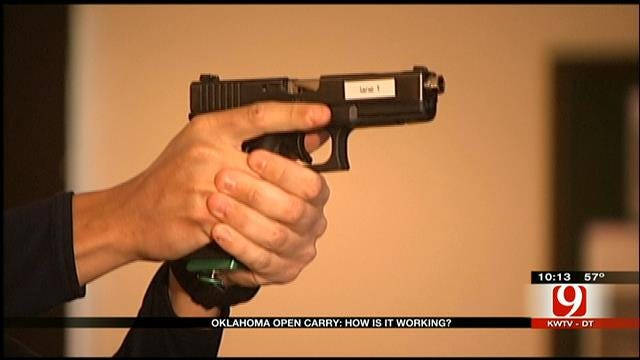 Are Oklahomans Armed In The Open 1 Year After Open Carry Became Legal?
