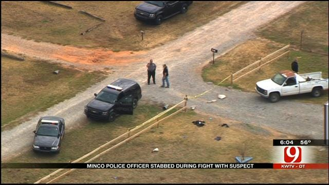 New Information On Suspect Who Stabbed Minco Officer